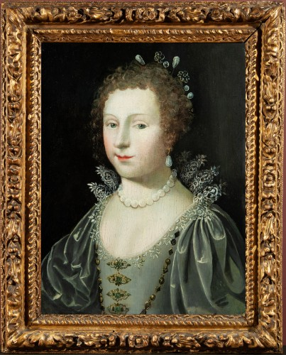 Portrait of a Princess - Workshop of Claude Deruet circa 1620