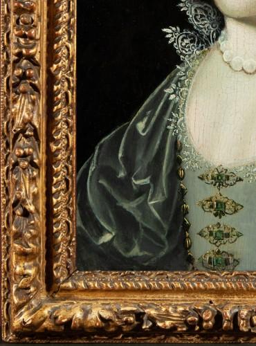 Paintings & Drawings  - Portrait of a Princess - Workshop of Claude Deruet circa 1620