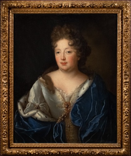Portrait of a princess attributed to François de Troy