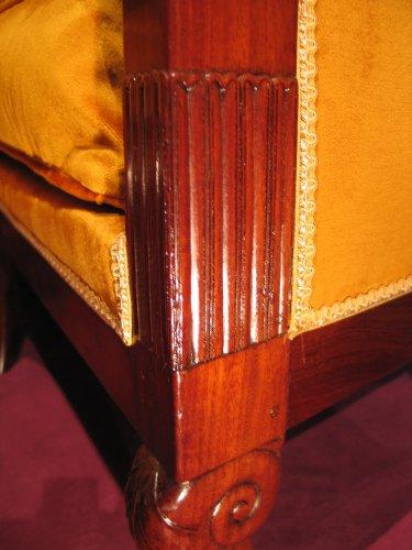 19th century - Corner sofa Restauration period