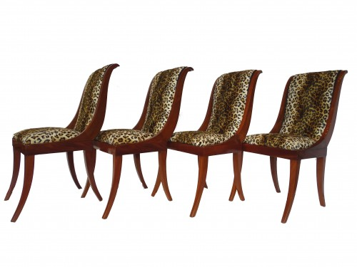 Empire mahogany chairs