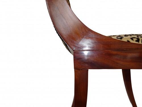 Seating  - Empire mahogany chairs
