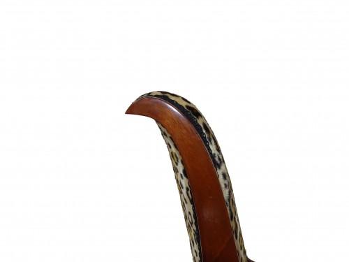 Empire mahogany chairs -