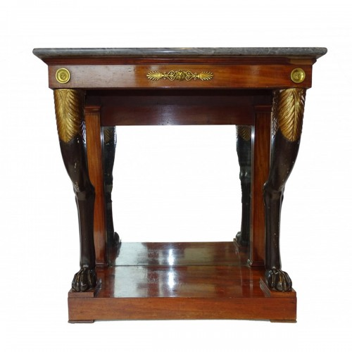 Mahogany Console of Consulate period
