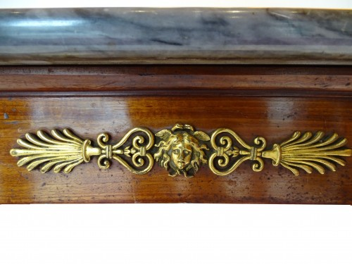 Furniture  - Mahogany Console of Consulate period