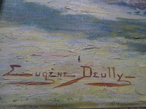 Paintings & Drawings  - Eugène Deully (1860 - 1933) - The Flowered Arcs