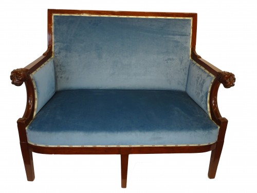 Small sofa of Consulate period, early 19th century - Seating Style Empire