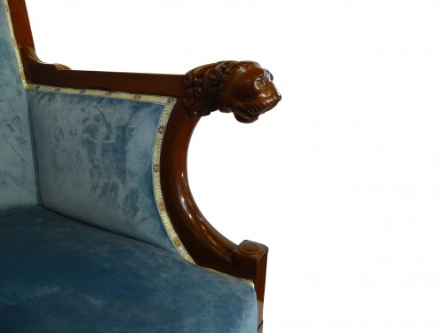 Small sofa of Consulate period, early 19th century -