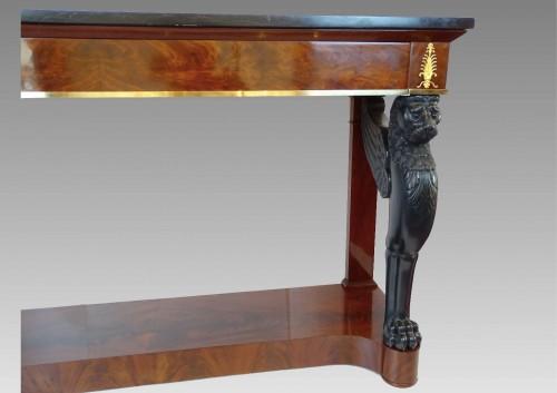 Large console, 1st Empire period - Furniture Style Empire