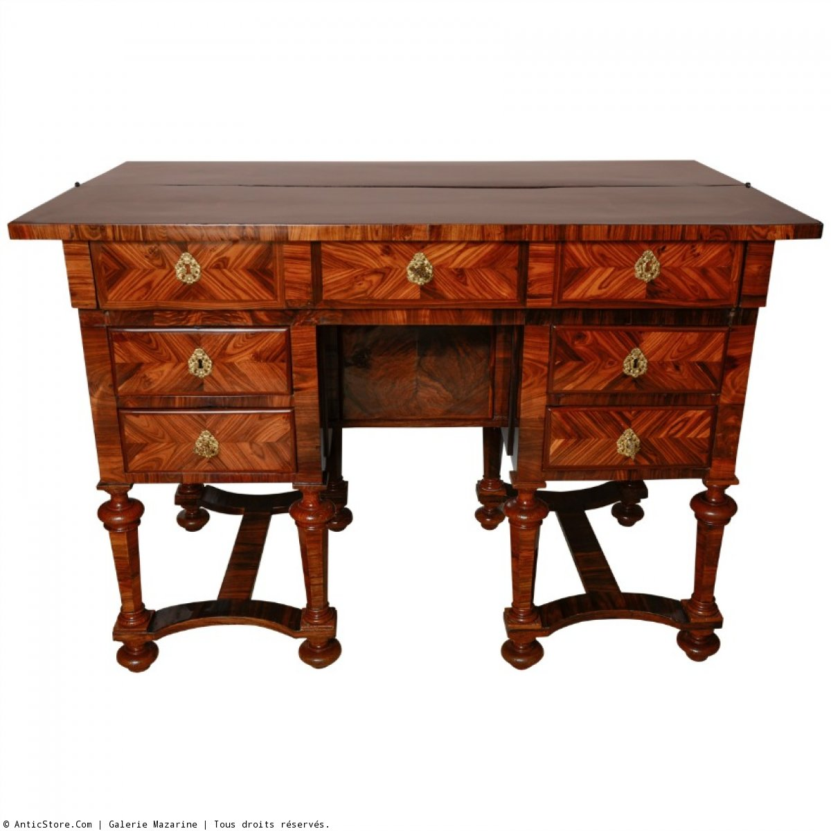 bureau et secr taire louis xiv antiquit s sur anticstore. Black Bedroom Furniture Sets. Home Design Ideas