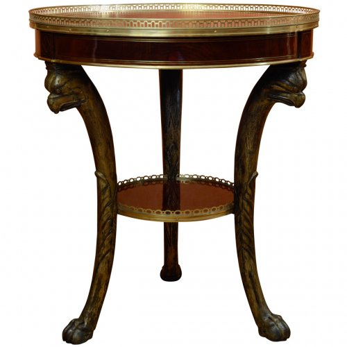 French Empire gueridon table