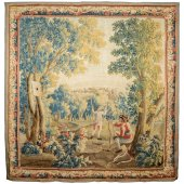 A Louis XV Aubusson tapestry