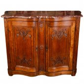 A French Regence oak buffet
