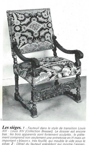 Louis XIV - Beautiful pair of french Louis XIV armchairs