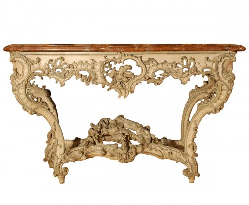 A french Louis XV console