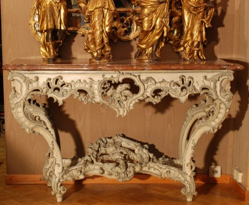 A french Louis XV console -