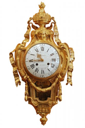 A French Louis XVI mantel clock by Osmond