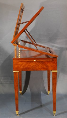 Furniture  - A Directoire mahogany architects table