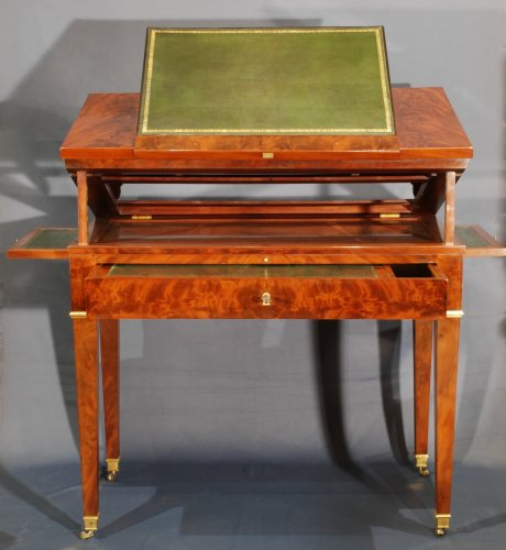 A Directoire mahogany architects table - Directoire