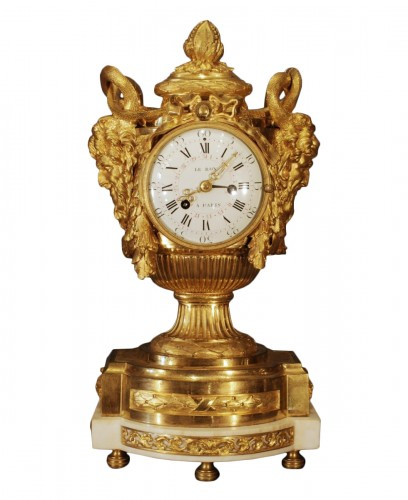 A french Louis XVI clock signed Leroy
