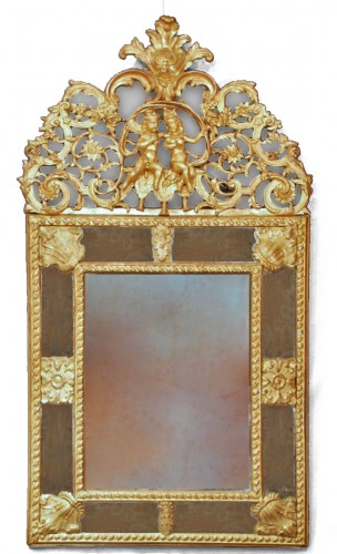 A french Louis XIV mirror