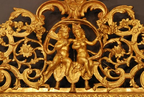 Mirrors, Trumeau  - A french Louis XIV mirror