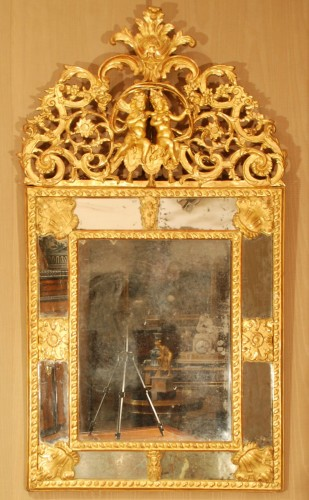 A french Louis XIV mirror -