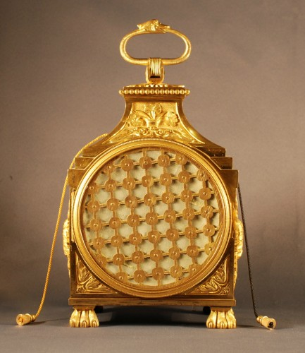 18th century - A Directoire pendule d'officier