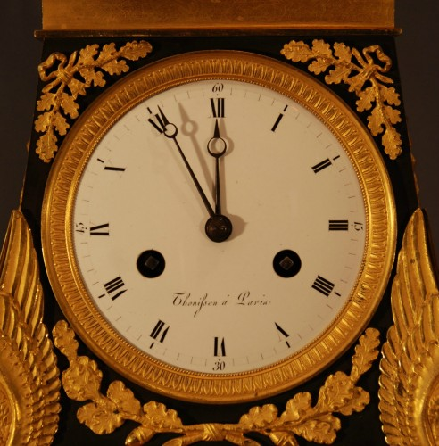 "A french Empire period clock ""Héraclès"" - Clocks Style Empire"