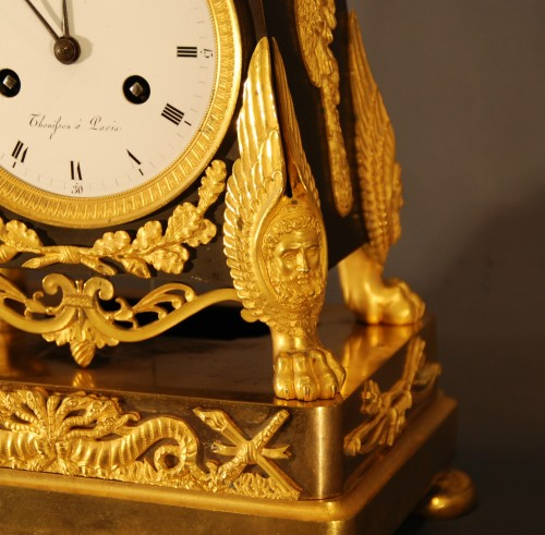 "A french Empire period clock ""Héraclès"" -"