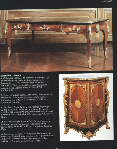 Antiquités - A French Louis XV desk