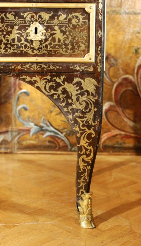 French Regence - A French Boulle Régence Writing Desk
