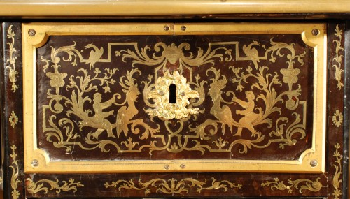 Antiquités - A French Boulle Régence Writing Desk