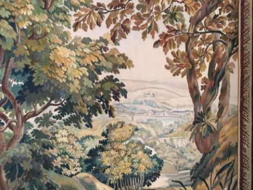 A 19th century Aubusson tapestry -