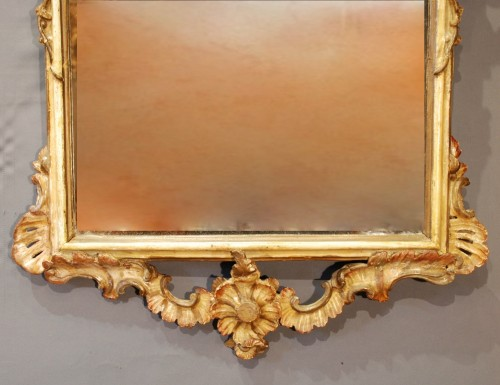 Mirrors, Trumeau  - An italian pair of mirrors 18th century