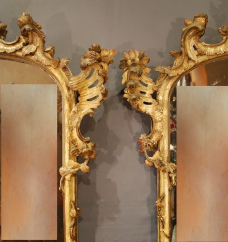 18th century - An italian pair of mirrors 18th century
