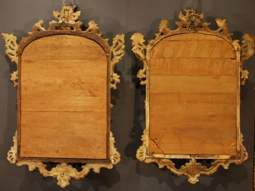 Louis XV - An italian pair of mirrors 18th century