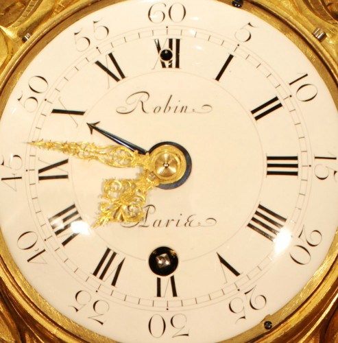 A French Louis XVI Cartel signed Robin à Paris - Clocks Style Louis XVI