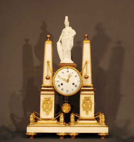 A french ormolu Louis XVI clock