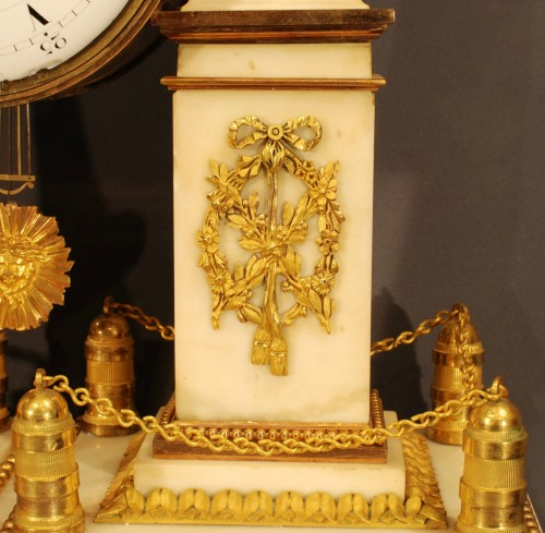 Clocks  - A french ormolu Louis XVI clock