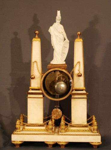 A french ormolu Louis XVI clock -