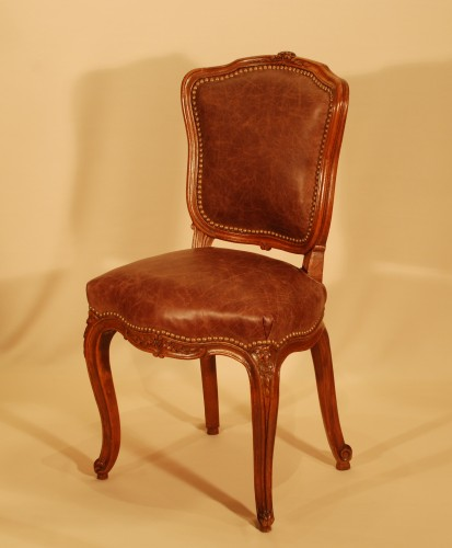 Seating  - A Louis XV set of four chairs