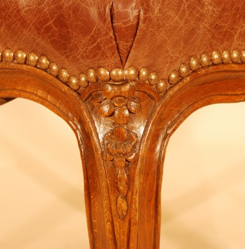 A Louis XV set of four chairs - Louis XV