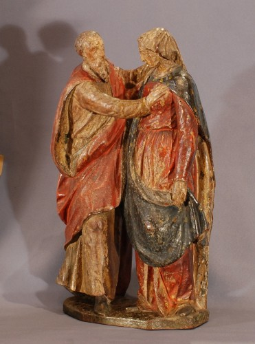 Sculpture  - Marriage of St Anne and St Joachim