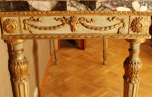 Furniture  - Neo-classical console table Italy late 18th century