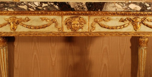 Neo-classical console table Italy late 18th century -