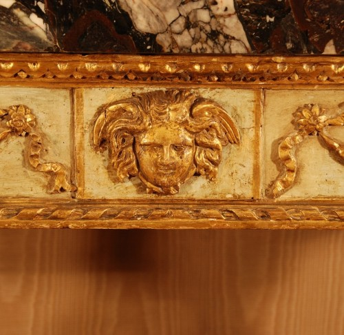 18th century - Neo-classical console table Italy late 18th century