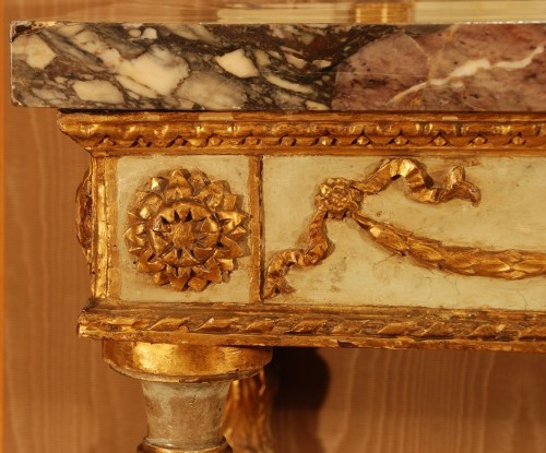 Louis XVI - Neo-classical console table Italy late 18th century