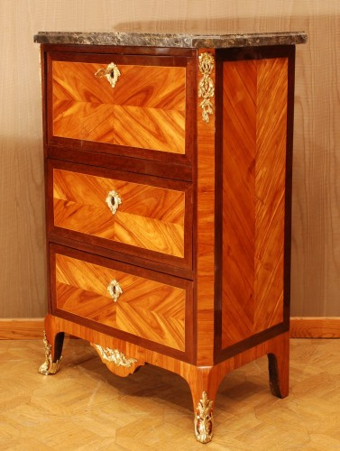 A small french Transition secretaire 18th century -
