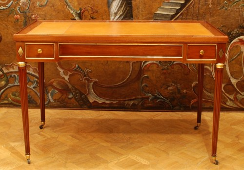 a french mahogany Louis XVI game table